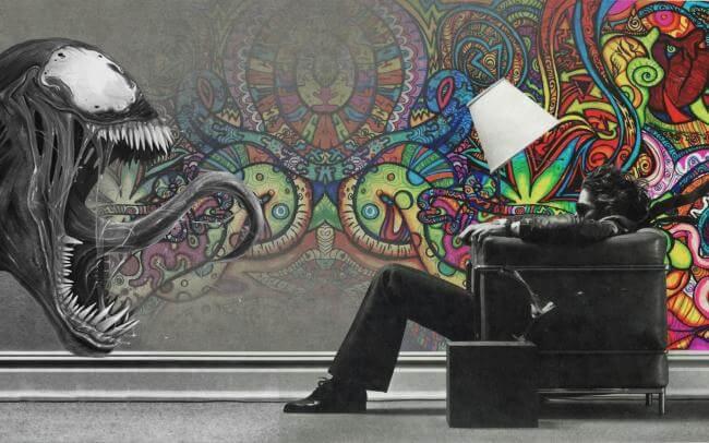 Картинка квест комнаты Психоделика в городе Харьков
