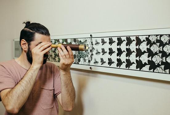 Картинка квест комнаты Музей невозможных фигур в городе Киев