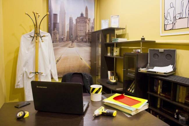 Картинка квест комнаты Промышленный шпионаж в городе Харьков