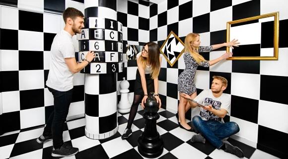 Картинка квест комнаты Black & White в городе Львов