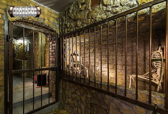 Картинка квест кімнати Застінки Інквізиції в городе Київ