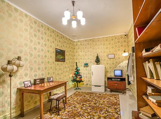 Картинка квест кімнати Підпільна лабораторія в городе Львів