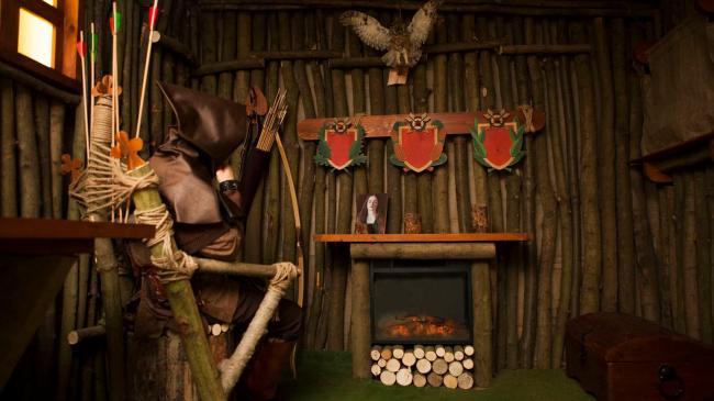 Картинка квест комнаты Робин Гуд в городе Киев