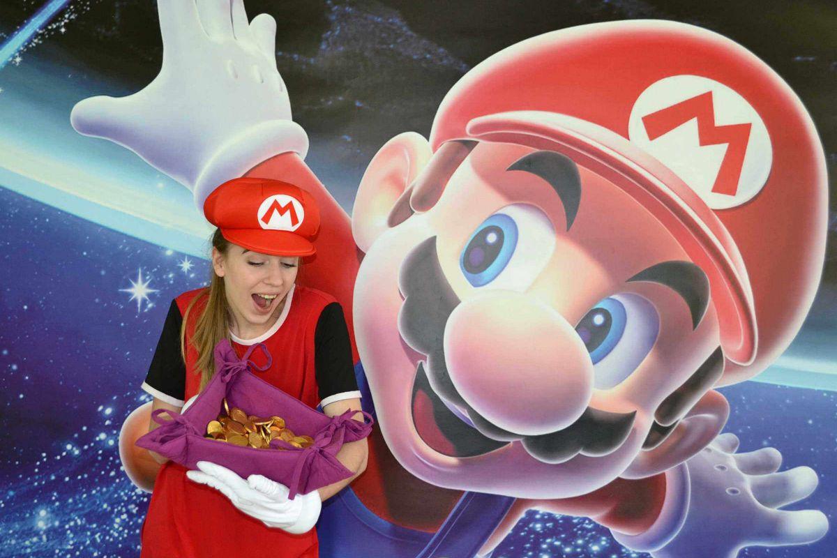 1 Фото квест комнаты Загадки Марио в городе Днепр
