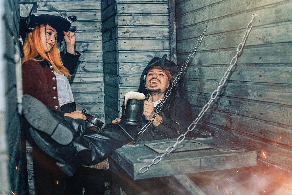 1 Фото квест кімнати Пірати Карибського моря в місті Київ