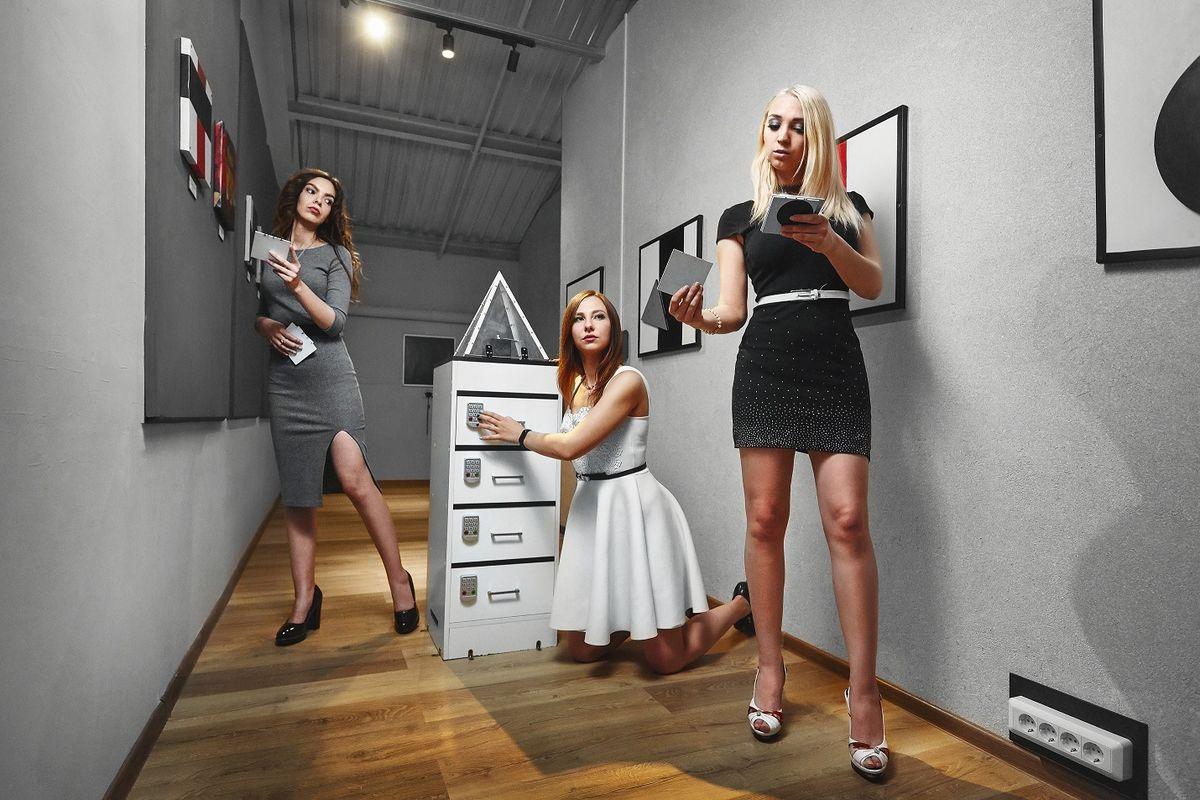 3 Фото квест кімнати Секрет Малевича в місті Київ
