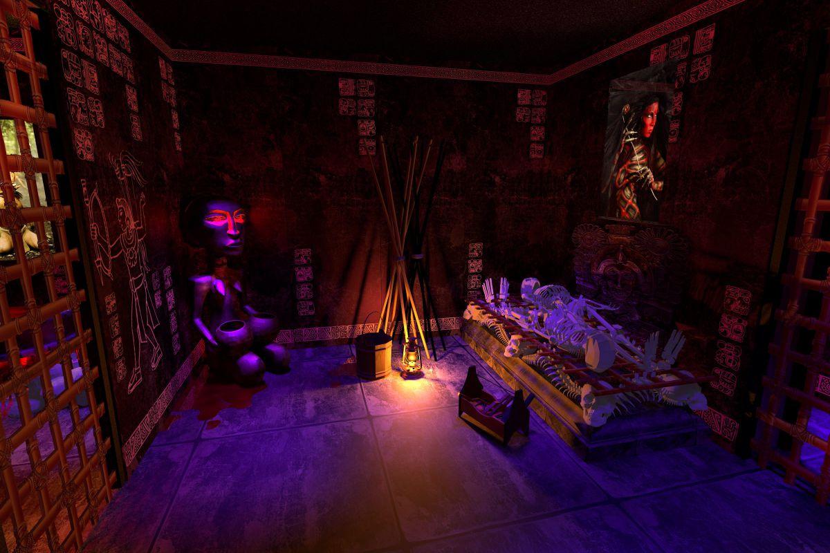 1 Фото квест комнаты Aztecs в городе Киев