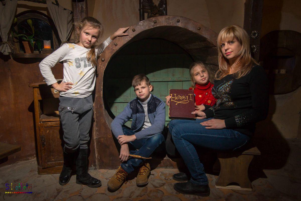 3 Фото квест кімнати Хоббит в місті Запоріжжя