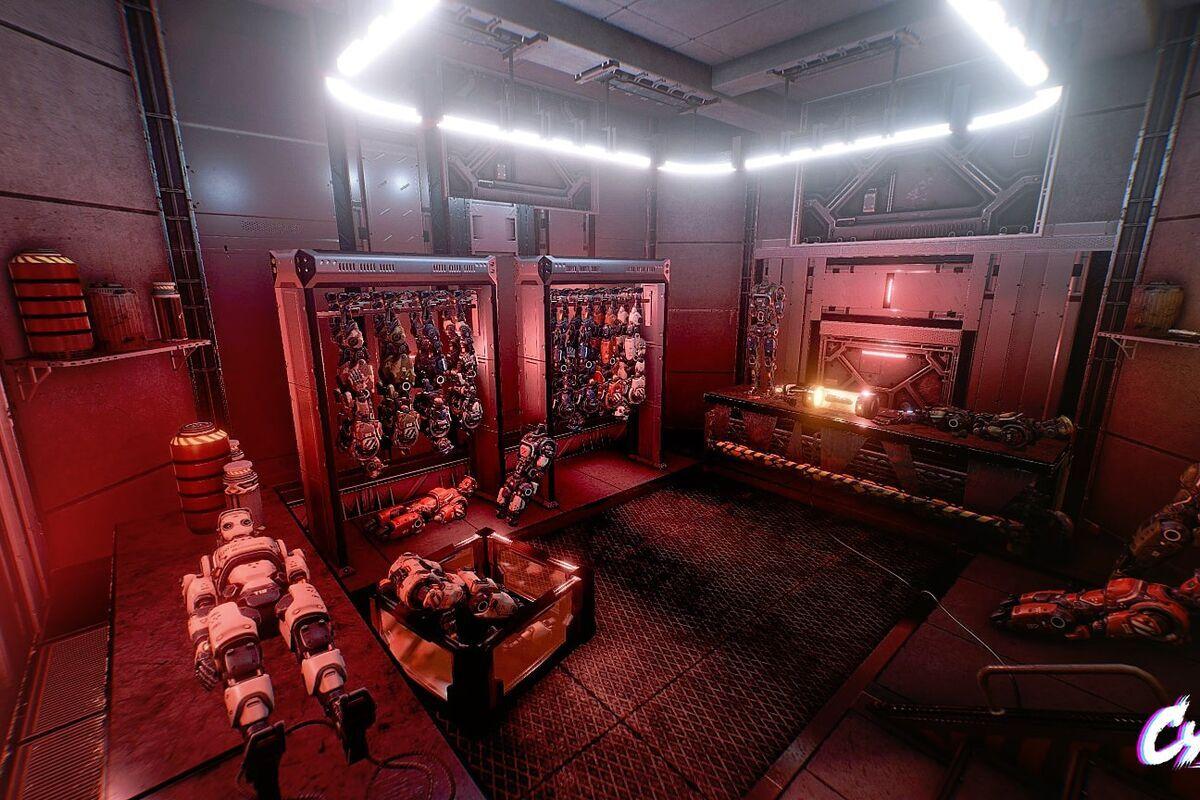 Картинка квест кімнати Cyberpunk (Кiберпанк) в городе Одеса